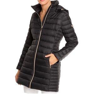 New! MICHAEL Michael Kors Packable Down Coat